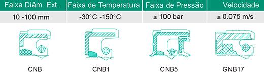 Retentores Automotivos Tipo CNB - Direção Hidráulica